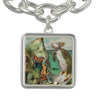 The Gryphon Alice and Mock Turtle Bracelet