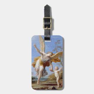 """The Guardian Angel"" custom luggage tag"