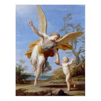 """The Guardian Angel"" postcard"