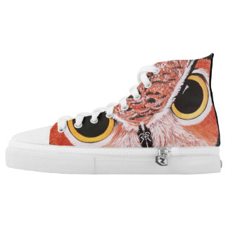 The Guardian Fine Art Print High Top Shoes