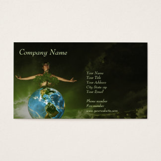 The guardian of our nature Business Card