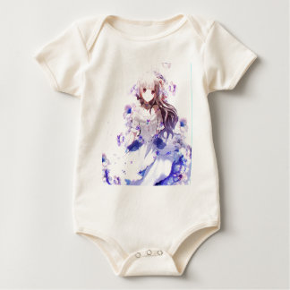 The Guardian Of The Siberian Iris Baby Bodysuit
