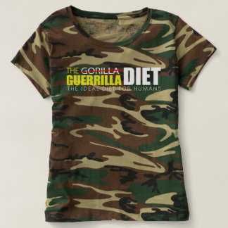 The Guerrilla Diet Women's Camouflage T-Shirt