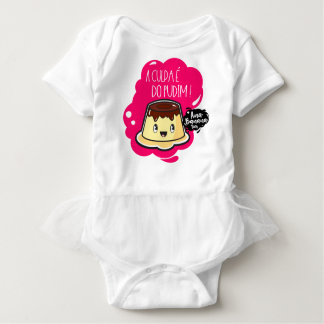 The Guilt is of the Pudding! - Body Tutu Baby Bodysuit