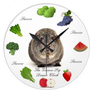 The Guinea Pig Dinner Clock
