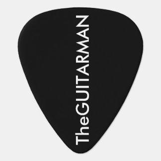 the-guitar-man black guitar pick