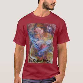 """The Guitar Player"" Men's T-shirt"