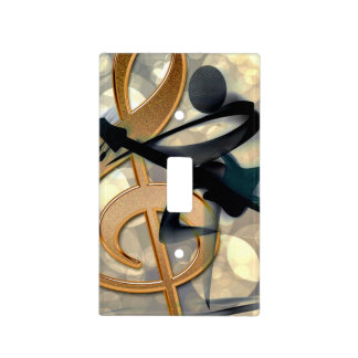 The Guitarist, Abstract Design Light Switch Cover