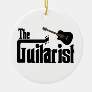 The Guitarist Ornament