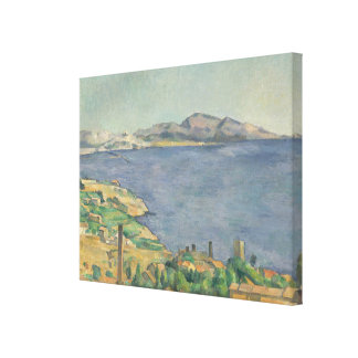 The Gulf of Marseilles Seen from L'Estaque Canvas Print