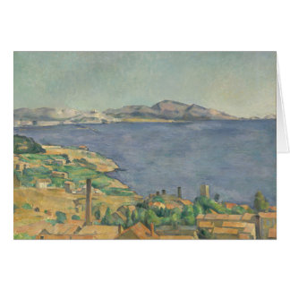 The Gulf of Marseilles Seen from L'Estaque Card