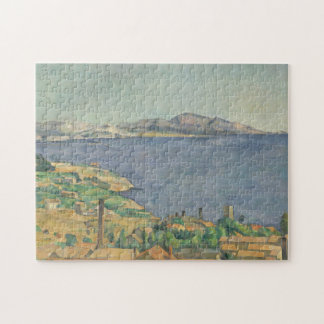 The Gulf of Marseilles Seen from L'Estaque Jigsaw Puzzle