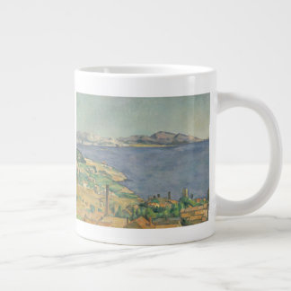 The Gulf of Marseilles Seen from L'Estaque Large Coffee Mug