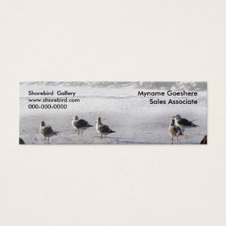 The gull squad mini business card