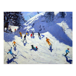 The Gully Belle Plagne 2004 Postcard