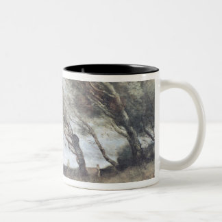 The Gust of Wind, c.1865-70 Two-Tone Coffee Mug