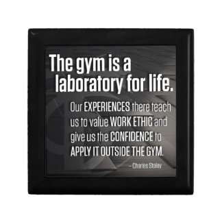 The Gym Is A Laboratory For Life - Inspirational Gift Box