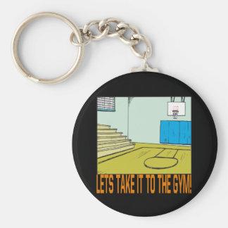 The Gym Keychain
