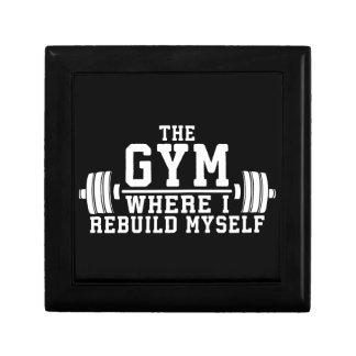 The Gym - Rebuild Myself - Workout Inspirational Gift Box