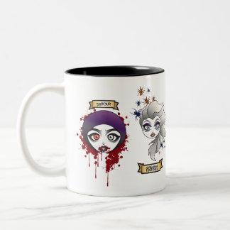 "The H.U.L. ""Creepy Cuties"" Two-Toned Mug"