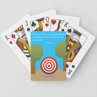 The Habit of Excellence Playing Cards