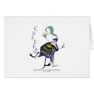 the haggis dance card