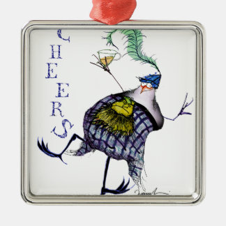 the haggis dance metal ornament