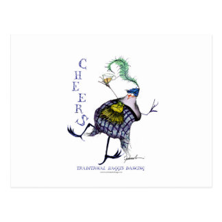 the haggis dance postcard