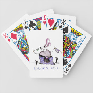 the haggis diet bicycle playing cards