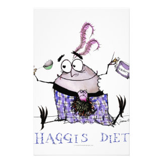 the haggis diet stationery