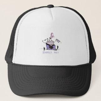 the haggis diet trucker hat