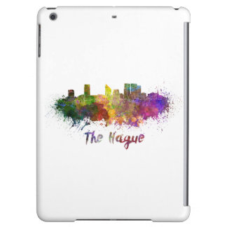 The Hague skyline in watercolor Cover For iPad Air