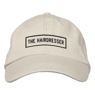 The Hairdresser Headline Embroidery Embroidered Hat