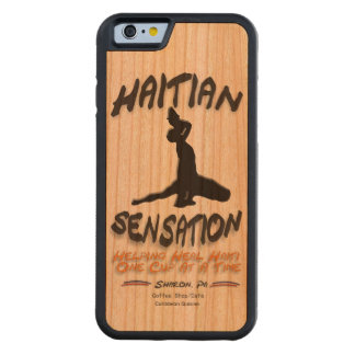 The Haitian Sensation Hardwood Phone Case