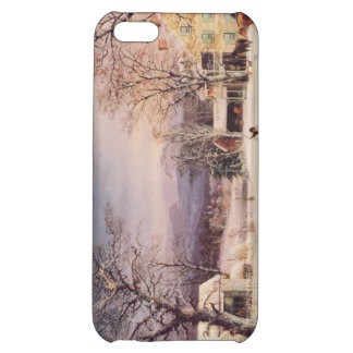 The Half-Way House by George Durrie iPhone 5C Cases