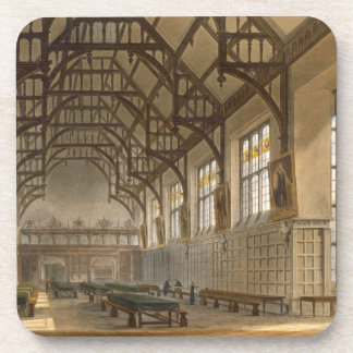 The Hall of Trinity College, Cambridge, from 'The Drink Coasters