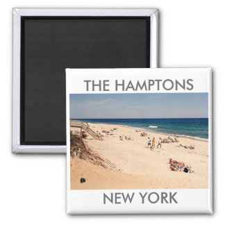 The Hamptons Beach magnet