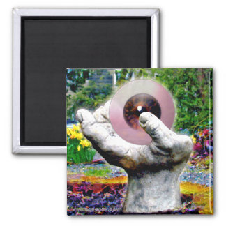 The Hand Digital Photography Magnet