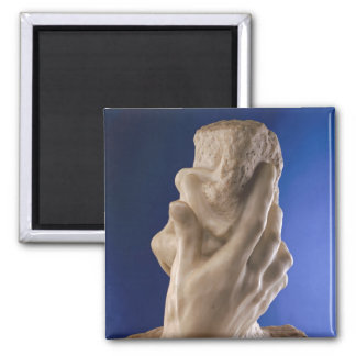 The Hand of God, 1898 Square Magnet