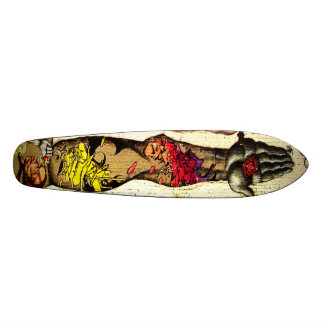 The Hand Off - Streetart Graffiti Deck Skateboard Decks
