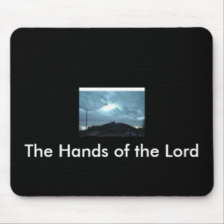 The Hands of the Lord Mouse Pad
