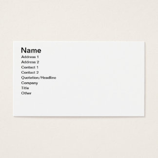 The Handsome Pig Couple Business Card