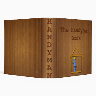 The Handyman Book Vinyl Binder