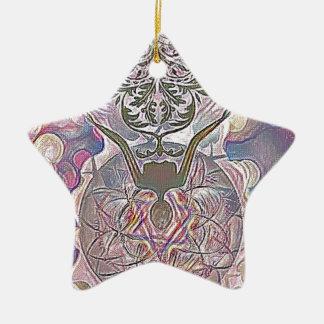 The Hanged Man Ceramic Ornament