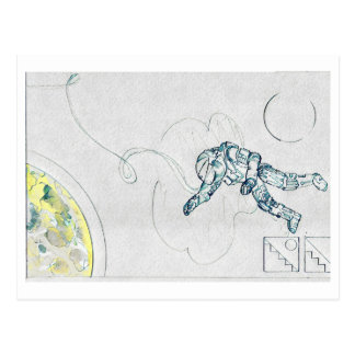 The Hanged Man Postcard
