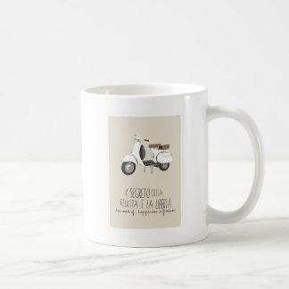 The happiness secret motorcycle message Mug