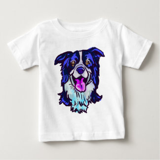 The happy Border Collie Love of My Life Baby T-Shirt