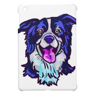 The happy Border Collie Love of My Life iPad Mini Cases