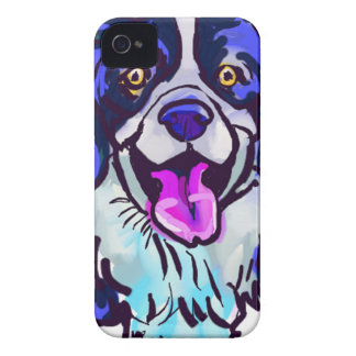 The happy Border Collie Love of My Life iPhone 4 Case-Mate Case