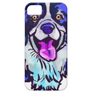 The happy Border Collie Love of My Life iPhone 5 Case